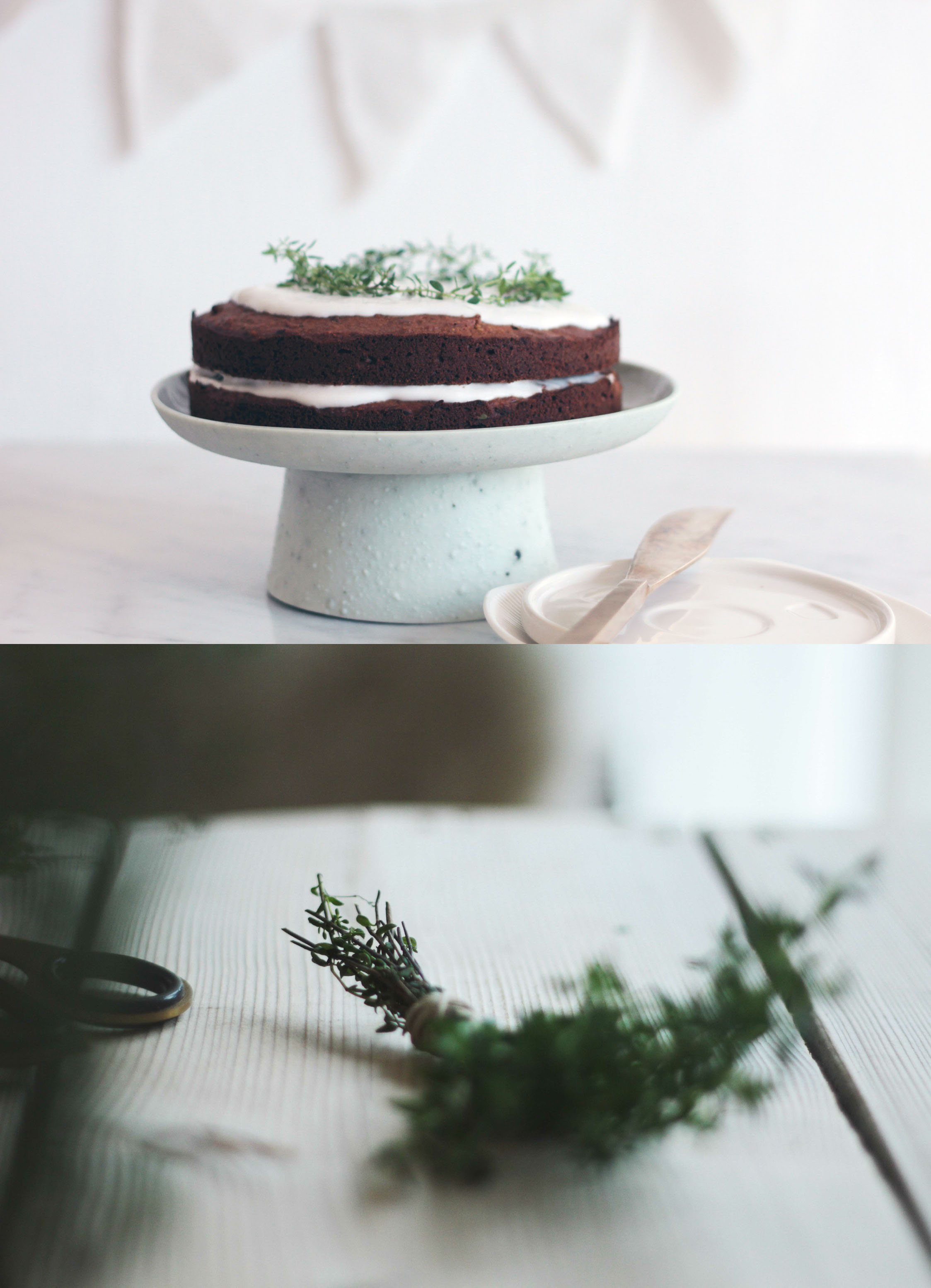 Kyra Pear Walnut Maple Birthday Cake