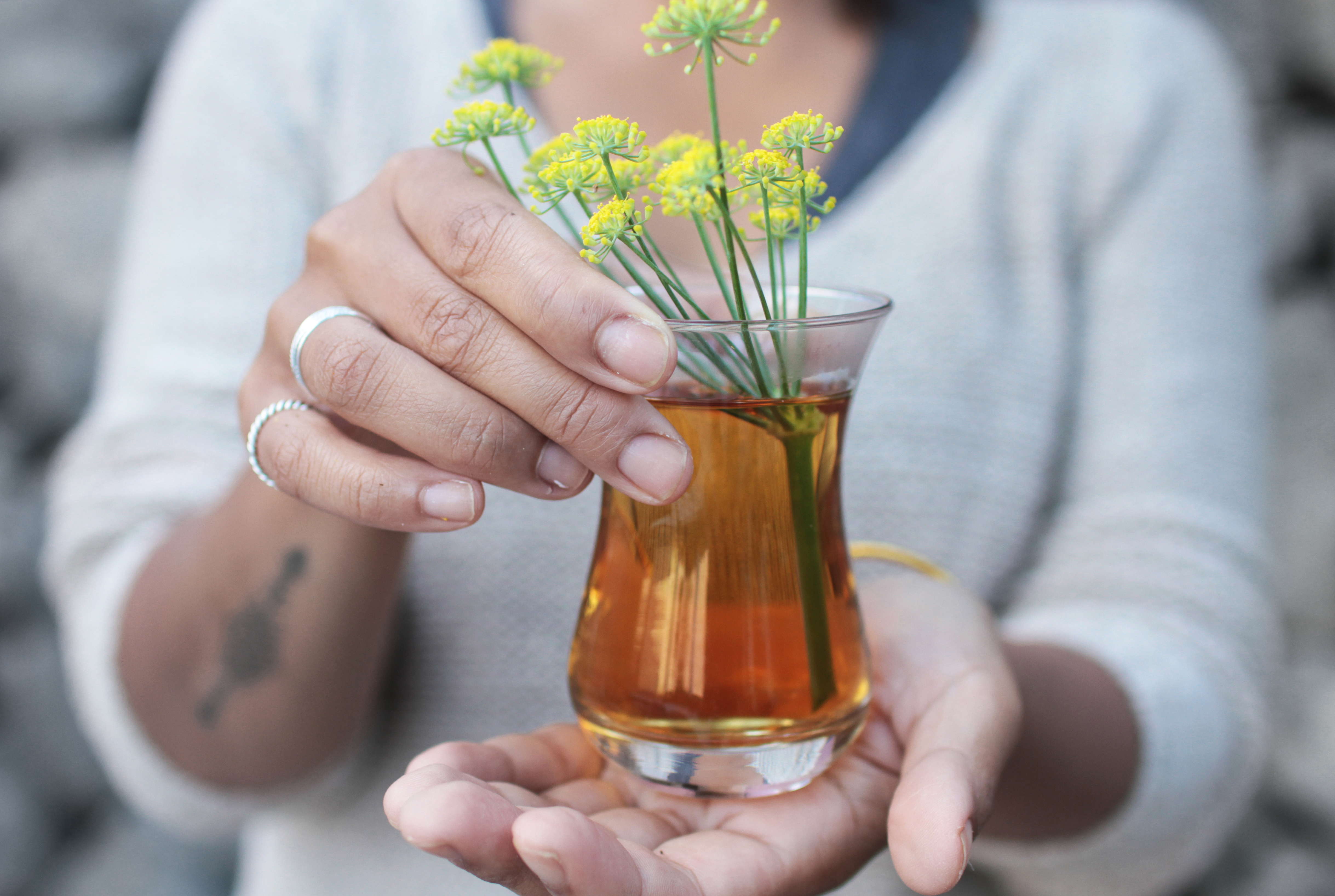 tea mandala de masca