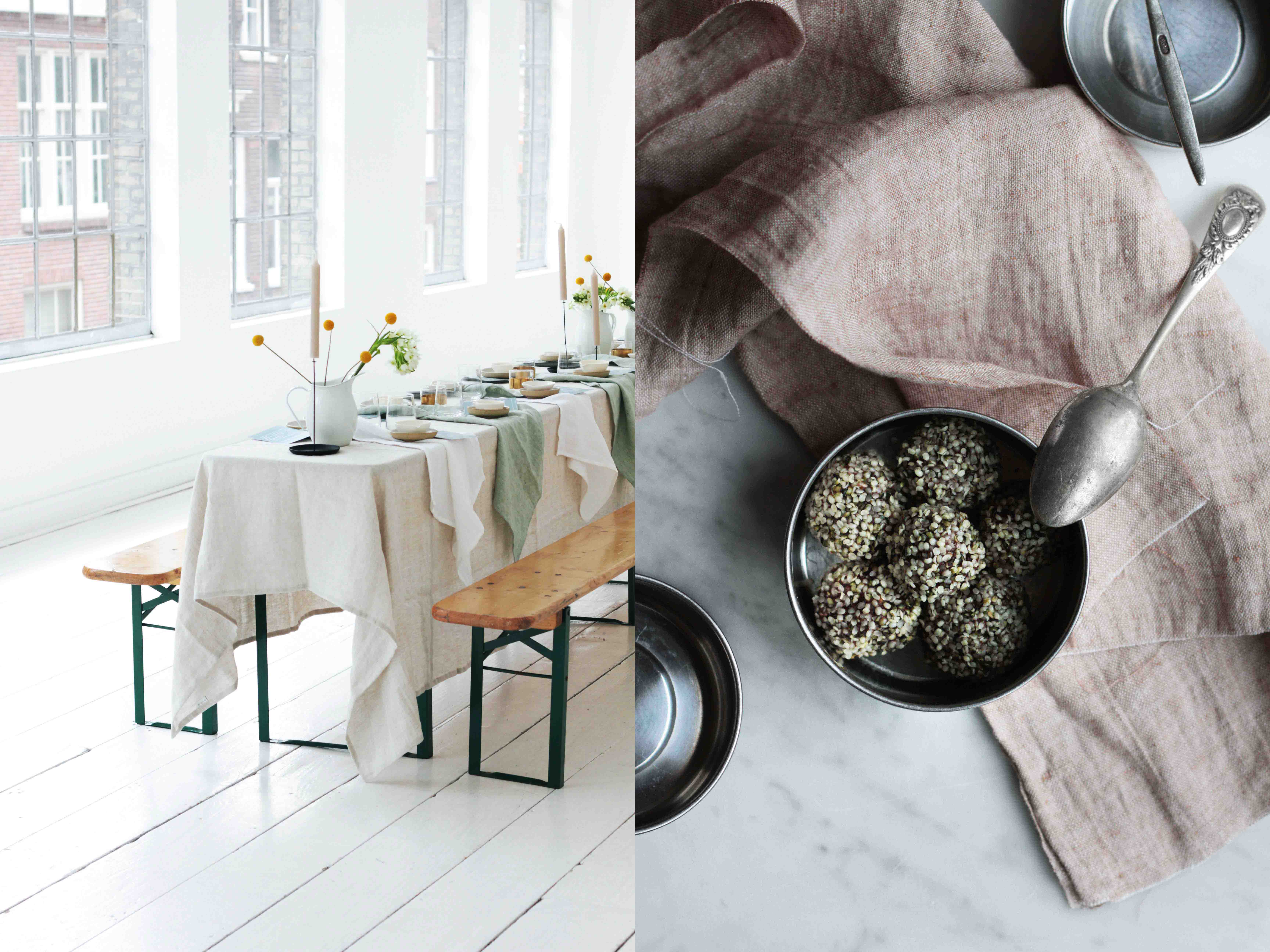 styling tablesetting vegan cookbook healthy sweets