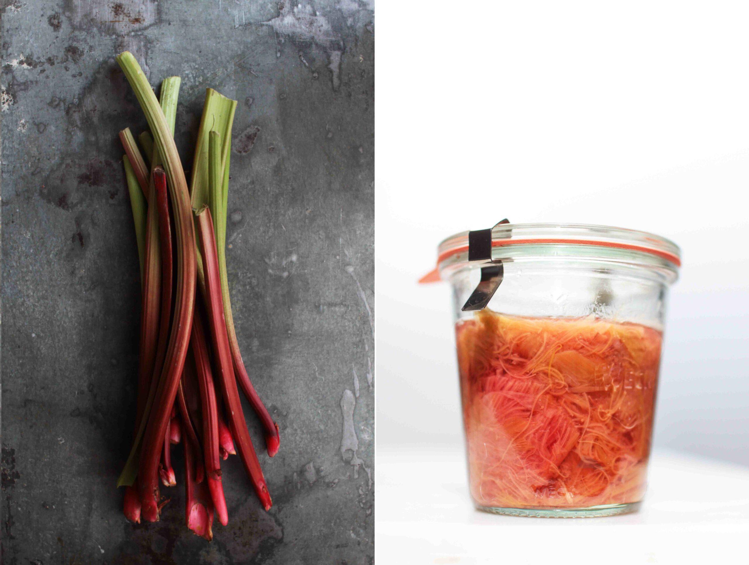 canning rhubarb